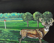 Sandra Wilson - Buck on the Greens