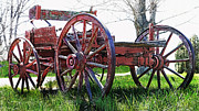 Old West Photos - Buckboard Wagon  by Terril Heilman