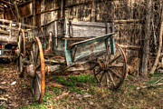 William Fields Metal Prints - Buckboard Metal Print by William Fields