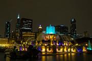 John Daly - Buckingham Fountain Gold and Blue