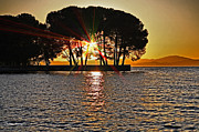 Cheryl Young Metal Prints - Buckingham Point Sunset 2 Metal Print by Cheryl Young