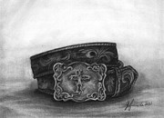 Ornate Drawings - Buckled by J Ferwerda