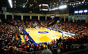 Basketball Posters Prints - Bucknell Bison Sojka Pavilion Print by Replay Photos