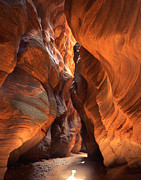 Buckskin Art - Buckskin Gulch by Ray Mathis