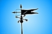 Weathervane Prints - Bucksport Weathervane Print by Tara Potts