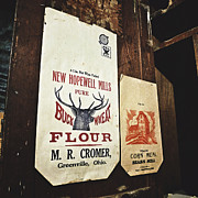 Grist Mills Posters - Buckwheat and Cornmeal Poster by Natasha Marco