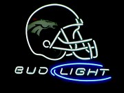Beer Photo Originals - Bud Light Bronco Helmet by Steven Parker