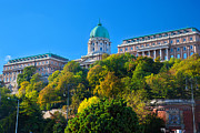 Hungary Travel Photos - Buda Castle in Budapest by Michal Bednarek