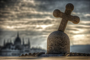 European City Digital Art - Buda cross by Nathan Wright