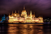 European City Digital Art - Buda Parliament  by Nathan Wright