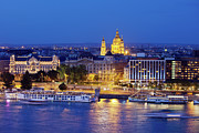 Hungary Travel Photos - Budapest at Night by Artur Bogacki