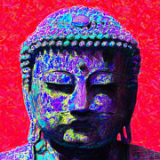Japanese People Digital Art Posters - Buddha 20130130p128 Poster by Wingsdomain Art and Photography