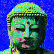 Japanese People Digital Art Posters - Buddha 20130130p18 Poster by Wingsdomain Art and Photography