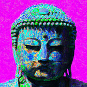 Japanese People Digital Art Posters - Buddha 20130130p76 Poster by Wingsdomain Art and Photography