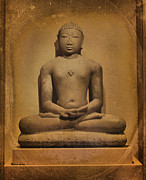 Teachings Metal Prints - Buddha 235 Metal Print by Cheryl Young