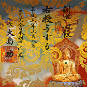 Cultural Painting Posters - Buddha  Poster by Corporate Art Task Force