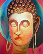 Indian Artist Prints - Buddha  Print by Dipali Deshpande