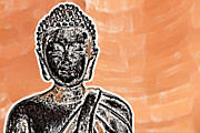 Zen Digital Art - Buddha Face by Semmick Photo
