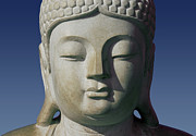 Statue Portrait Photo Prints - Buddha Print by George Siedler