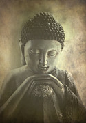 Siddharta Photo Framed Prints - Buddha Framed Print by Madeleine Forsberg