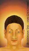 Mayur Sharma Metal Prints - Buddha Metal Print by Mayur Sharma