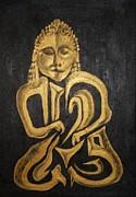 Buddha Metallica Print by Pius Kendakur