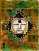 Roads Mixed Media - Buddha Mind by Nancy TeWinkel Lauren