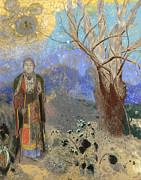 Famous Artists - Buddha by Odilon Redon