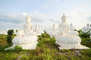 Traditional Sculptures - Buddha statue by Amarin Kongyin