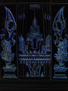 Religious Art Sculpture Metal Prints - Buddha Metal Print by Thanavut Chao-ragam