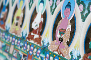Buddhism Art - Buddha Thangka by Tim Gainey