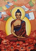 Buddha Print by Yuliya Glavnaya