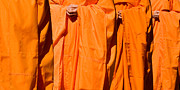 Buddhist Monk Photos - Buddhist Monks 03 by Rick Piper Photography