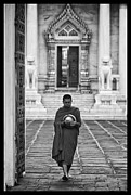 Accepting Framed Prints - Buddhist Prayers 4 Framed Print by David Longstreath
