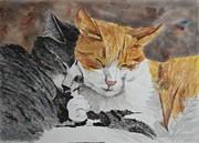Buddies Paintings - Buddies by Betty-Anne McDonald