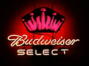 Frosty Mixed Media Posters - Budweiser Neon  Poster by Todd and candice Dailey