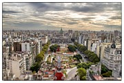 Buenos Aires Gifts Prints - Buenos Aires Congress Tilt Shift Print by For Ninety One Days