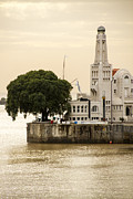 Buenos Aires Gifts Prints - Buenos Aires Lighthouse Print by For Ninety One Days