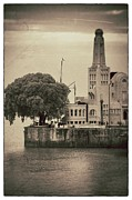 Buenos Aires Gifts Prints - Buenos Aires Lighthouse Vintage Print by For Ninety One Days