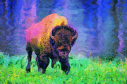 Jim  Hatch - Buffalo at Yellowstone