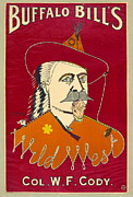 Ritchie Metal Prints - Buffalo Bill Advertisement 1890 Metal Print by Padre Art