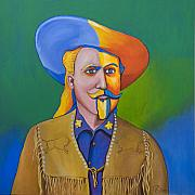 Robert Lacy Prints - Buffalo Bill Print by Robert Lacy