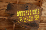 Marsha Ingrao Posters - Buffalo Chip Brew Anyone Poster by Marsha Ingrao