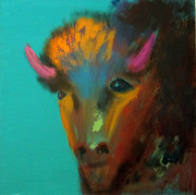 Keith Thue Art - Buffalo by Keith Thue