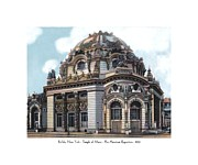 1901 Digital Art Posters - Buffalo New York - Temple of Music - Pan American Exposition - 1901 Poster by John Madison