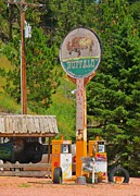 Country Dirt Roads Photos - Buffalo Trading Post by John Malone