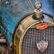Bugatti Vintage Car Photos - Bugatti by Bill  Wakeley