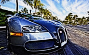 Sleek Prints - Bugatti Print by Cheryl Young