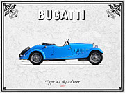 Bugatti Vintage Car Photos - Bugatti Type 44 1927 by Mark Rogan