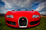 Classics Framed Prints - Bugatti Veyron Framed Print by Peter Tellone